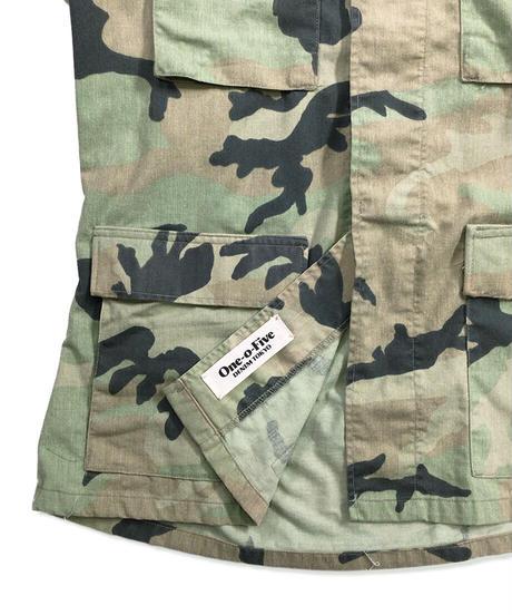 Military Jacket   Bleach(Military Wash) Size MEDIUM #001