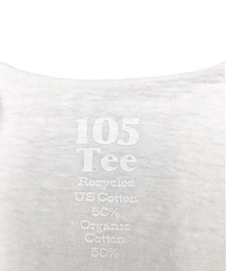 105TEE  CUT OFF  #WHITE