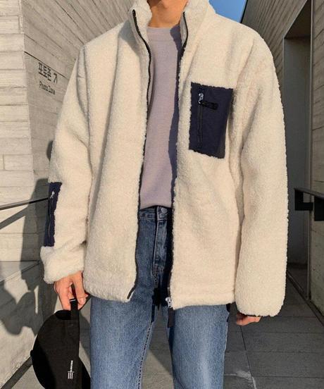 ユニセックスボアジャケット
