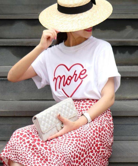 【即納】more heart Tシャツ