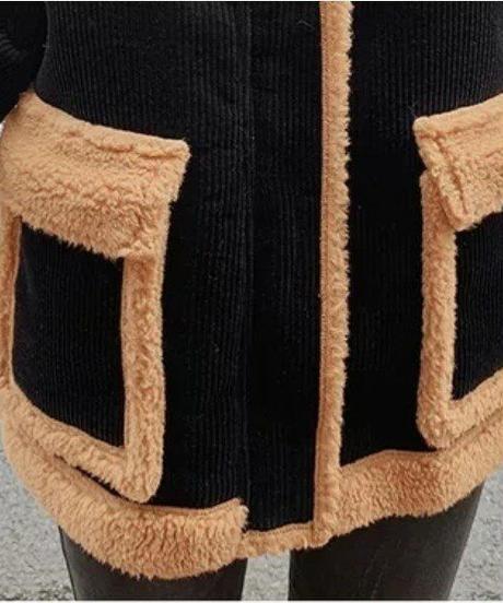バイカラーデザインジャケット