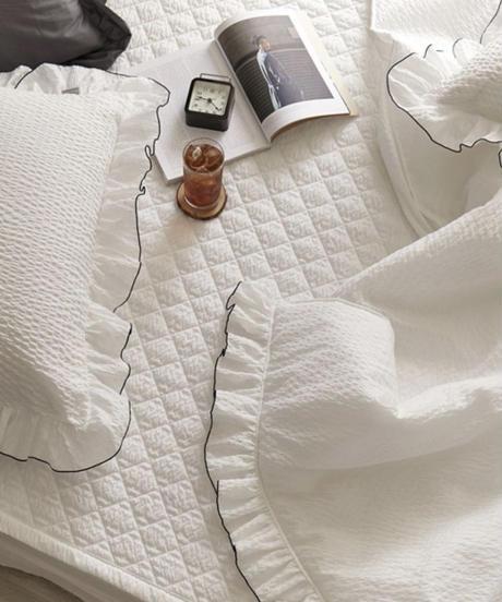 レースガーゼケット枕カバーセットS
