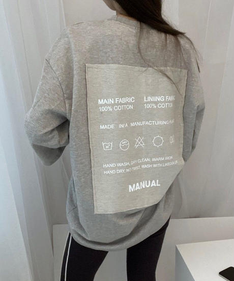 【即納】Laundry tag t-shirt