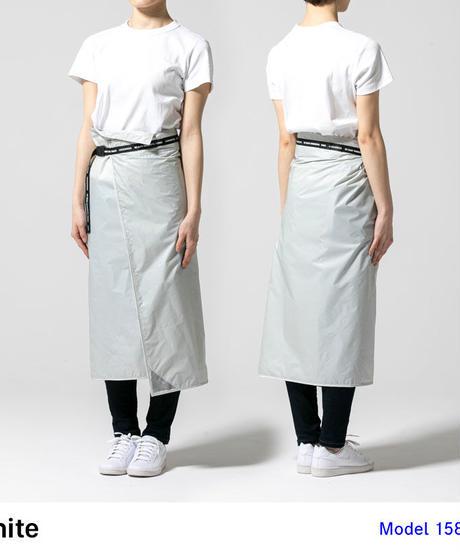 DLITE レインスカート 丈70cm  - White