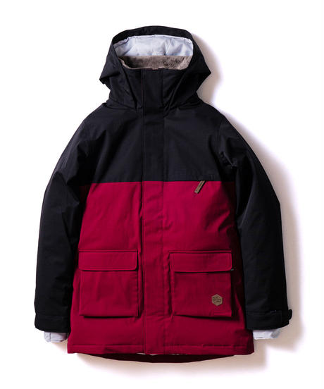 Bicolor Jacket - Black/Burgundy