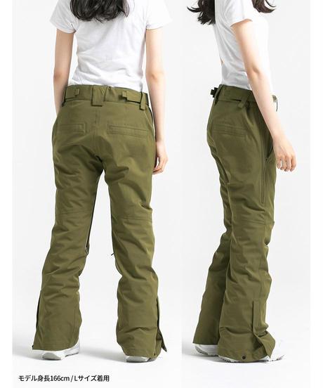 Stretch Straight Pants - Khaki