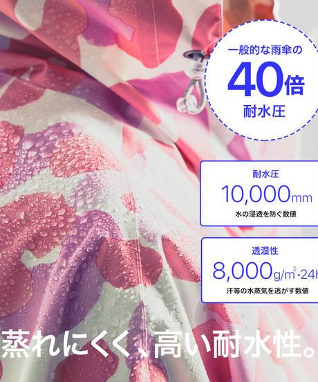 43DEGREES レインポンチョ(キッズ) - Print M