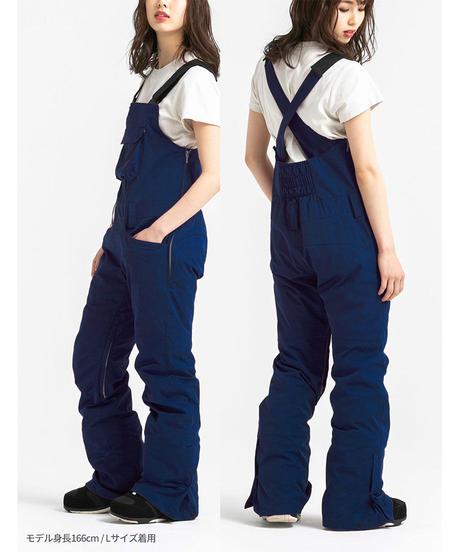 Stretch Bib Pants - Navy