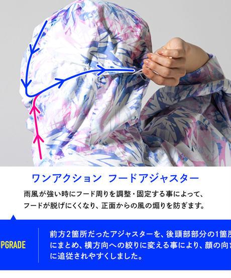 43DEGREES レインポンチョ - Flower