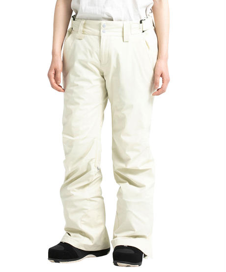 Stretch Straight Pants - White