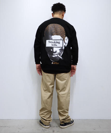 【GLR236】 CHOCOLATE HEAD L/S TEE