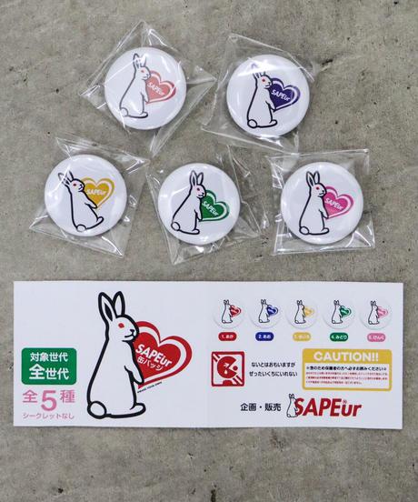 【GLR245】 FIVE HEART RABBIT GACHA