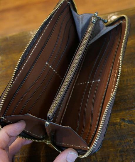light wood brown ラウンドファスナー 12枚タイプ