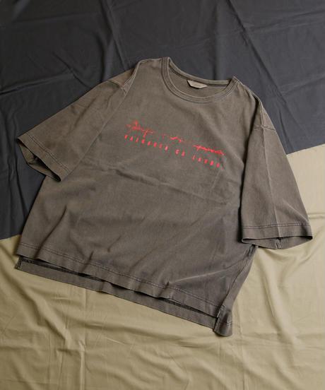 【全2色】JieDa ジエダ / PIGMENT VALOAREA CA LAUDA TEE ピグメント ヴァロレア カ ラウダ Tシャツ / Jie-21S-CT03-C