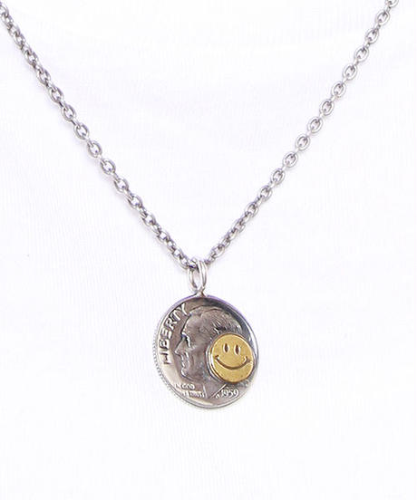 NORTH WORKS ノースワークス / 10cent BRASS SMILE PENDANT ネックレス / N-302