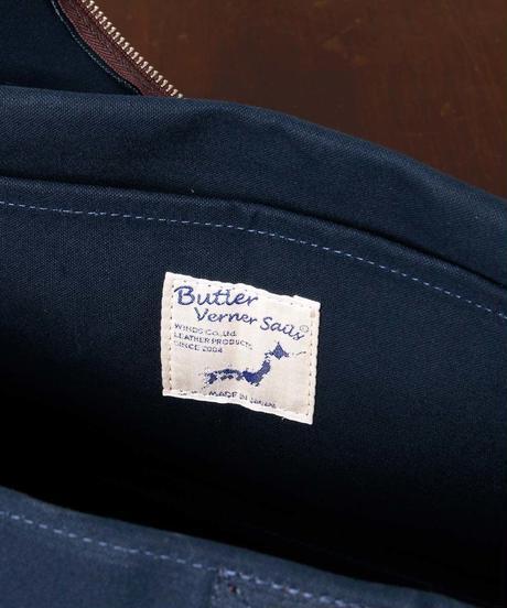【全3色】Butler Verner Sails バトラーバーナーセイルズ / パラフィンスクエアボストン / JA-1419-2