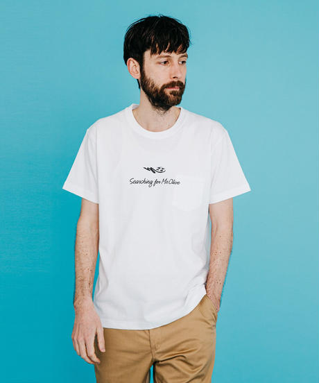 MR.OLIVE ミスターオリーブ / CAST PHOTO T-SHIRT バックプリント フォトTシャツ / M-20204
