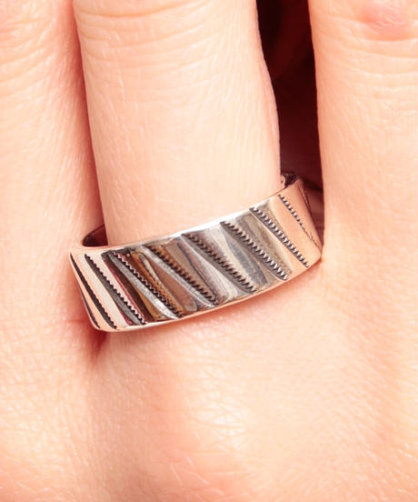 NORTH WORKS ノースワークス / 900Silver Stamp Ring Bias リング / W-051