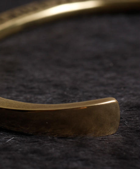 HARIM ハリム / concept bangle Brass(SIDE STAMPS) / HRA021BR