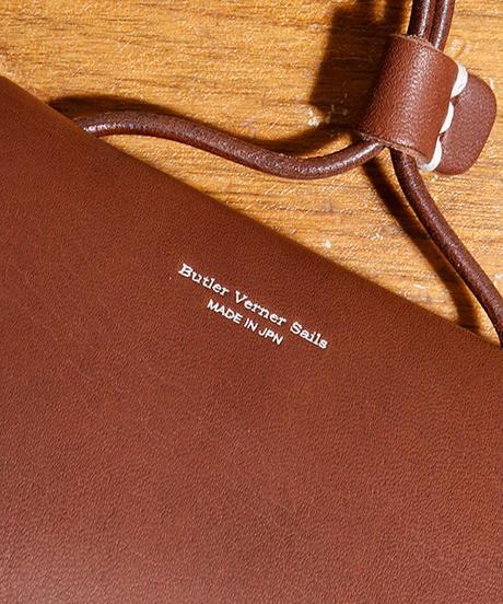 【全2色】Butler Verner Sails バトラーバーナーセイルズ / ハンドクラフト グラスorペン レザーショルダー / JK-1934