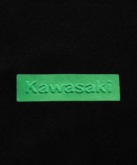 SEVESKIG セヴシグ / KAWASAKI × SEVESKIG S/SL T カワサキコラボレーションボックスロゴTシャツ / CT-KW-KS-1006