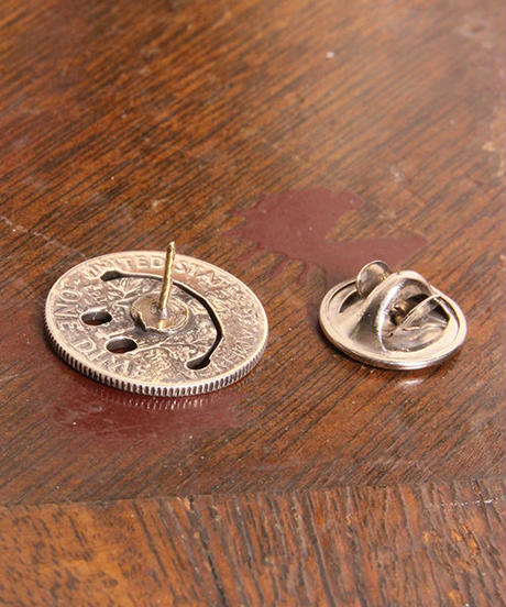 NORTH WORKS ノースワークス / 10cent SMILE PIN / N-248