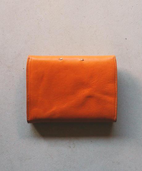 agarito|ミドル財布|ギボシ|CAMEL|牛革|植物タンニン