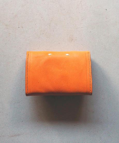 agarito|ミニ財布|ギボシ|CAMEL |牛革|植物タンニン