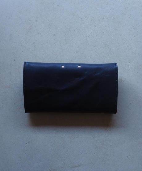 agarito|ロング財布|ギボシ|BK |牛革|植物タンニン