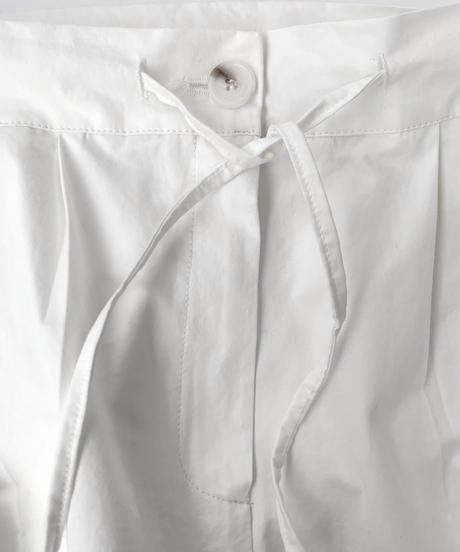 Cotton Center Press Pants〈20-220143〉