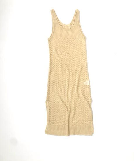 Knitting Camisole Onepiece〈21-440043〉