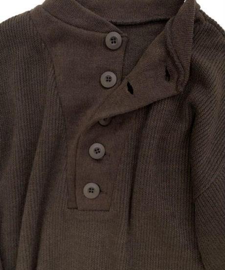 Henry Neck Knit OP〈20-440204〉