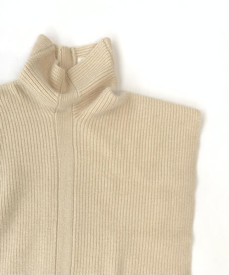 Turtle Knit Gilet〈21-550083〉