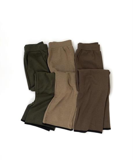 Piping Jacquard Kint Pants〈20-220192〉