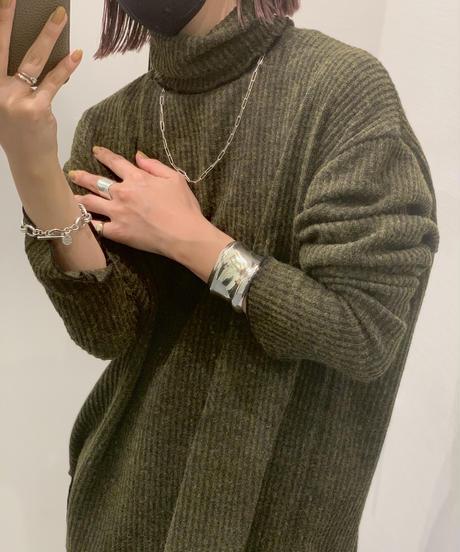 Lib Mellow Turtle knit〈20-550262〉
