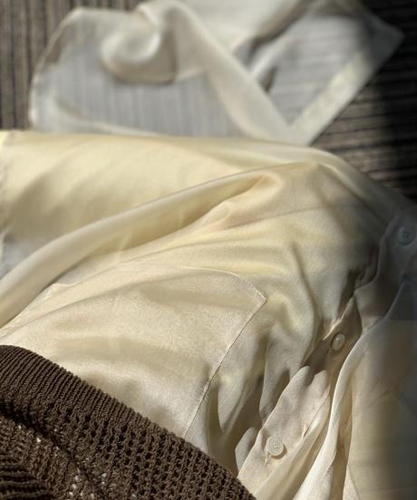 Sheer Shirt OP〈20-440061〉