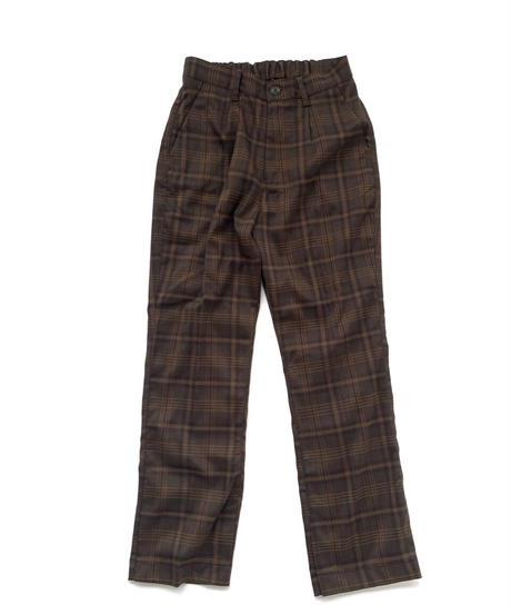 Tapered Check Pants〈20-220216〉