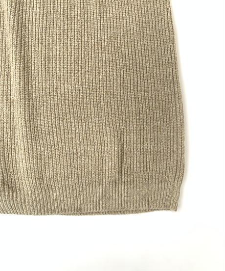 Slit Knit  One-piece〈21-550082〉