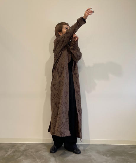 Jacquard  Dressing Gown〈21-880119〉