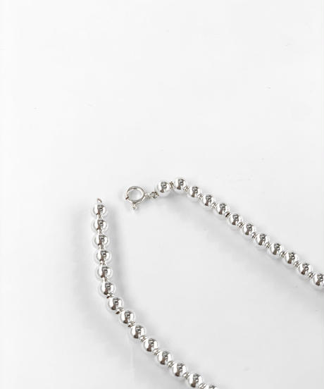 Silver925 Ball Chain Necklace〈21-910046〉