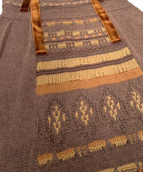 Long Knit Gilet〈21-440007〉