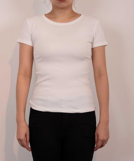 62411033 _ コンパクトリブTシャツ