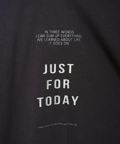 63411051 _ バックタックロゴTシャツ