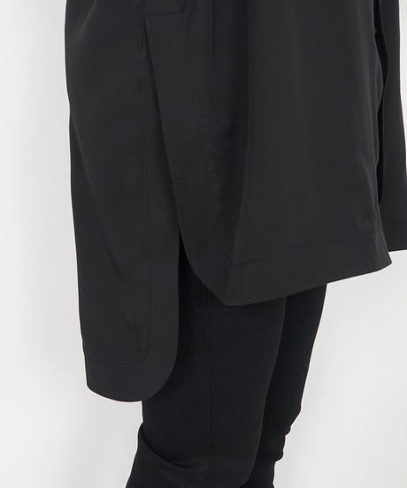 66241124 _ カフスリブカットソーデザインシャツ