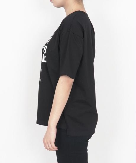 66411103 _ 裾カッティングTシャツ