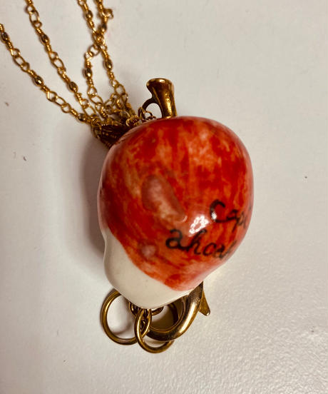 リンゴズ女ネックレス capi×ahcahcum