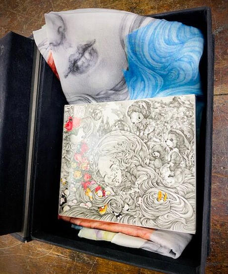 ahcahcum×kyotaro お目目book-bag タロットカード、スカーフ付