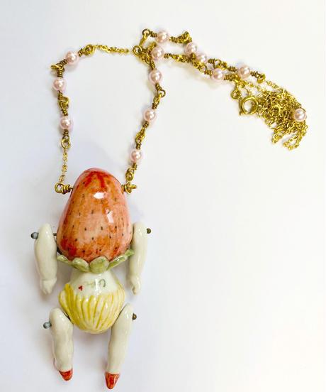 capi×ahcahcumイチゴ女子ネックレス