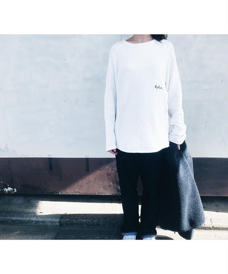 Unisex Cut Off Logo Sweat