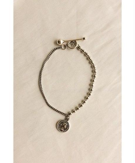 silver925 coinmix bracelet